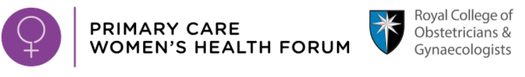 Primary Care Women's Health Forum and RCPG logo