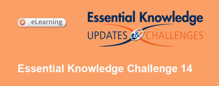 Essential Knowledge Challenge 14
