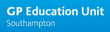 GP Education Unit Southampton logo